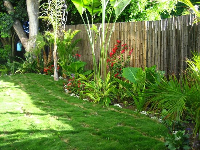 Schon Garten Gestalten Ideen Gartenpflanzen Hinterhof
