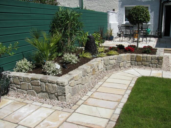 111 Gartenwege gestalten Beispiele - 7 tolle Materialien für den ...