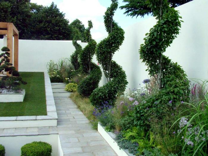 Gartenmauern Gestalten Ideen ideen für gartenmauern kreative ideen für innendekoration und