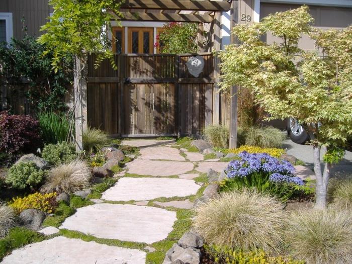 111 gartenwege gestalten beispiele - 7 tolle materialien für den, Garten und erstellen