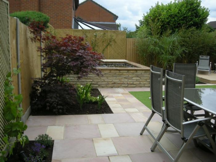 Bodenbeläge garten  111 Gartenwege gestalten Beispiele - 7 tolle Materialien für den ...