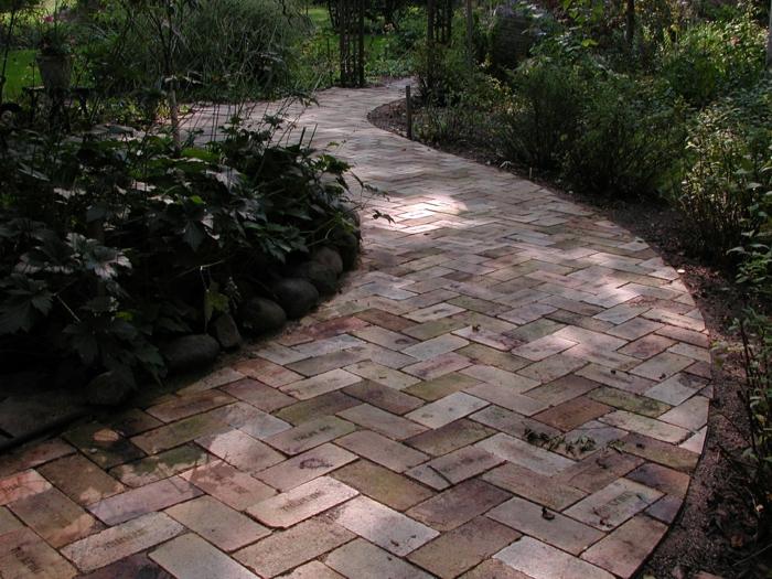 111 Gartenwege Gestalten Beispiele 7 Tolle Materialien Für Den