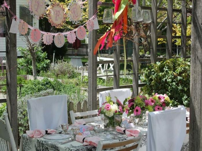 Gartenfest Deko Ideen : 22 Deko Gartenparty Ideen - Was darf auf einem ...