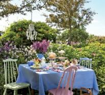 22 Deko Gartenparty Ideen – Was darf auf einem Gartenfest nicht fehlen?