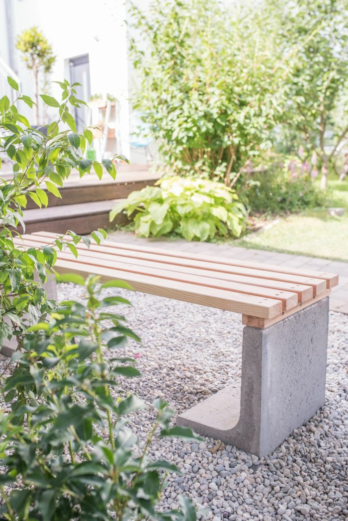 terrasse gestalten mit kies verschiedene. Black Bedroom Furniture Sets. Home Design Ideas