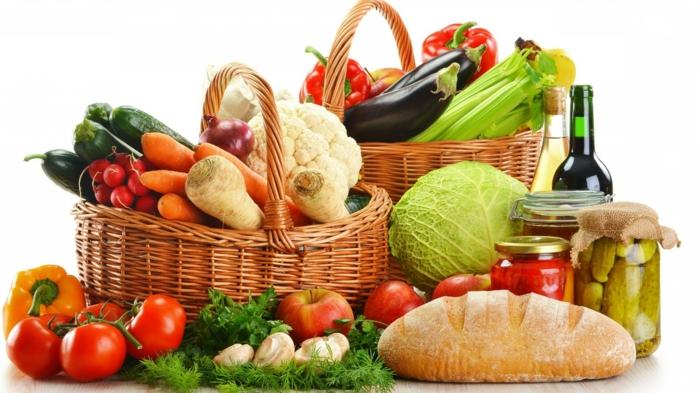 gesundes essen ausgewogen menue große vielfalt