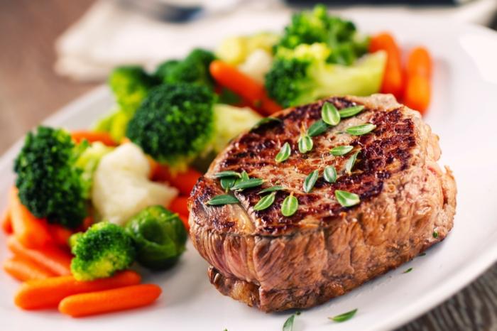gesund essen ausgewogenes menue spannend