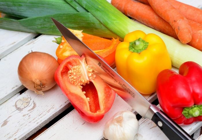grillen vegetarisch gemüse bbq vegane ideen paprika zwiebeln poree knoblauch möhren
