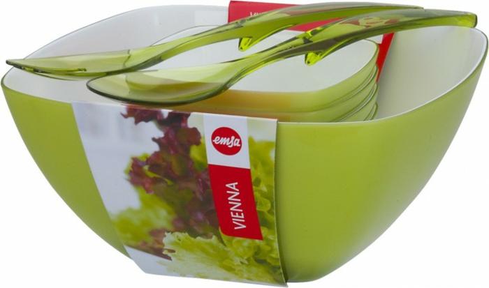 grillparty angrillen fleisch gemüse salat grüne schale vienna plastik salatbesteck