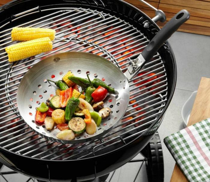 grillparty angrillen gefu gemüse wok gesund grillen