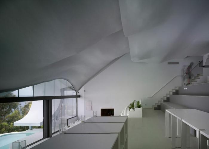 haus am meer kaufen drache design inneneinrichtung minimalistischer einrichtungsstil