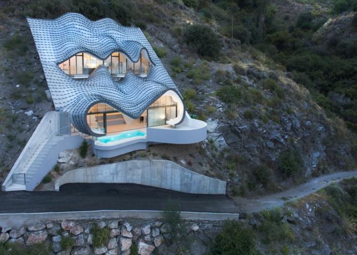 haus am meer kaufen drache moderne architektur immobilien spanien
