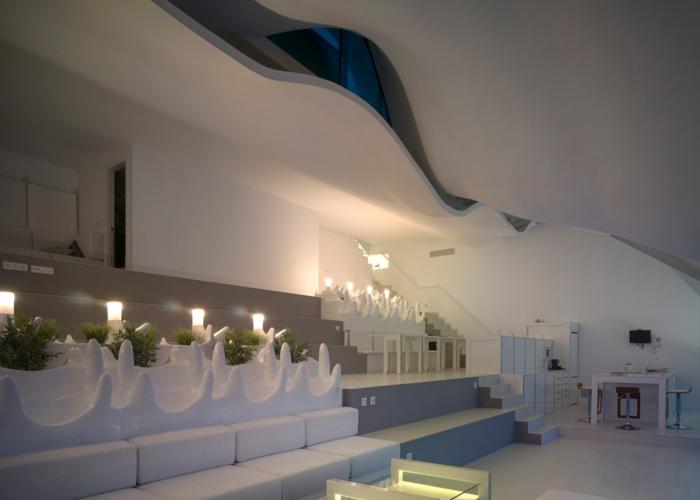 haus am meer kaufen moderne inneneinrichtung weiß couch beistelltisch esstisch