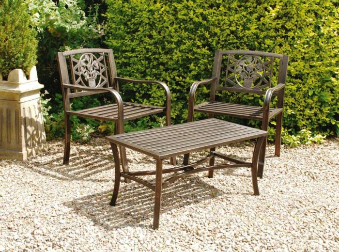 ikea gartenmöbel outdoor metallmöbel vintage design