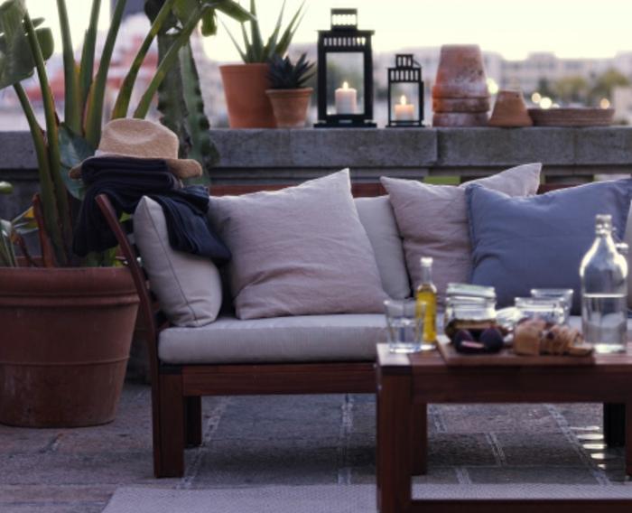 ikea gartenmöbel outdoor sofa modulserie äpplarö