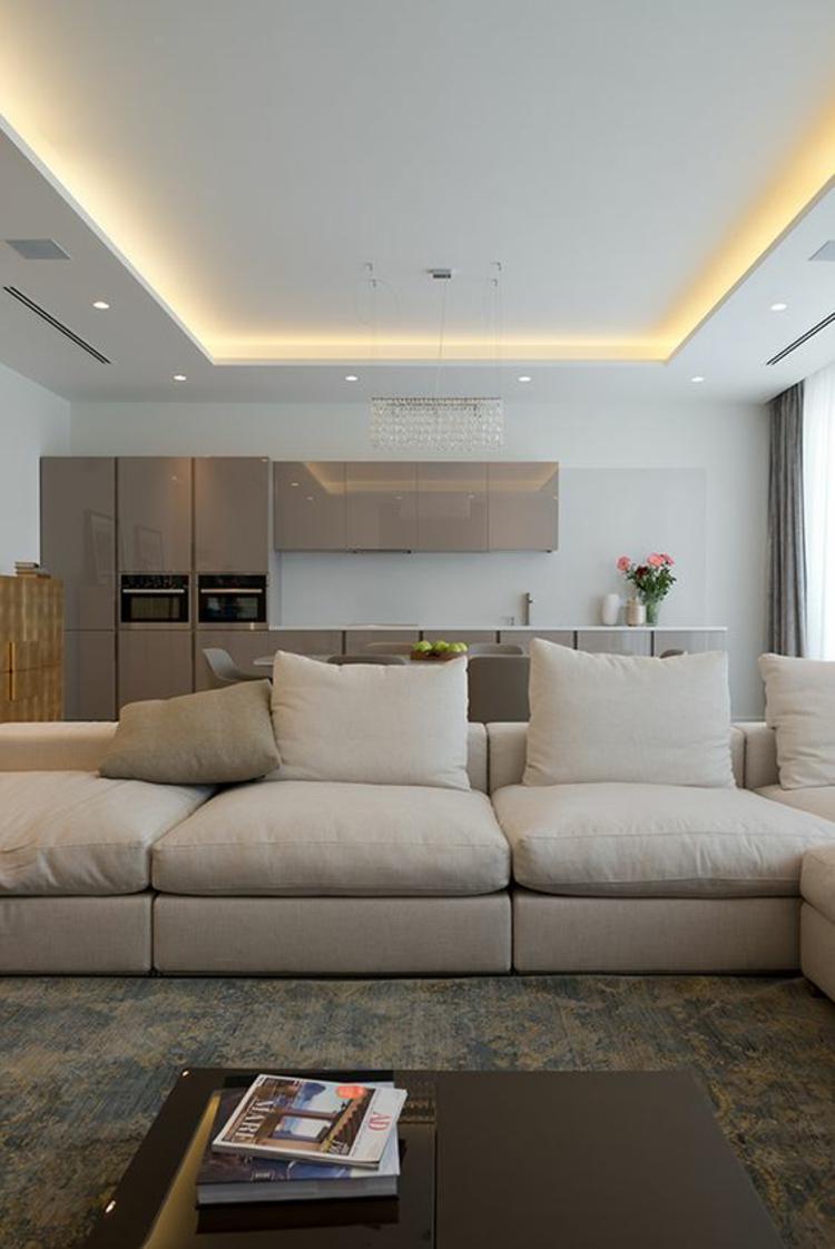 Die indirekte beleuchtung im kontext der neusten trends - Wohnzimmer wandlampen ...
