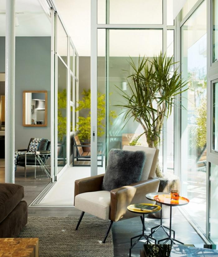 Mit zimmerpflanzen das zuhause dekorieren 60 beispiele for Einrichtungsbeispiele wohnzimmer
