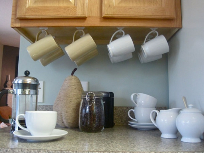 kücheneinrichtungen henkel glas raum nutzen