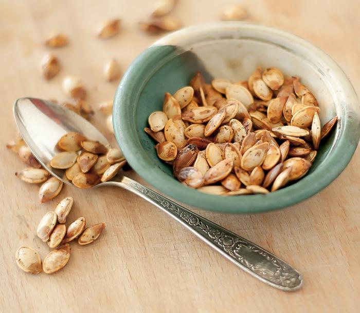 kürbiskerne gesund gebacken vorteile nährstoffe