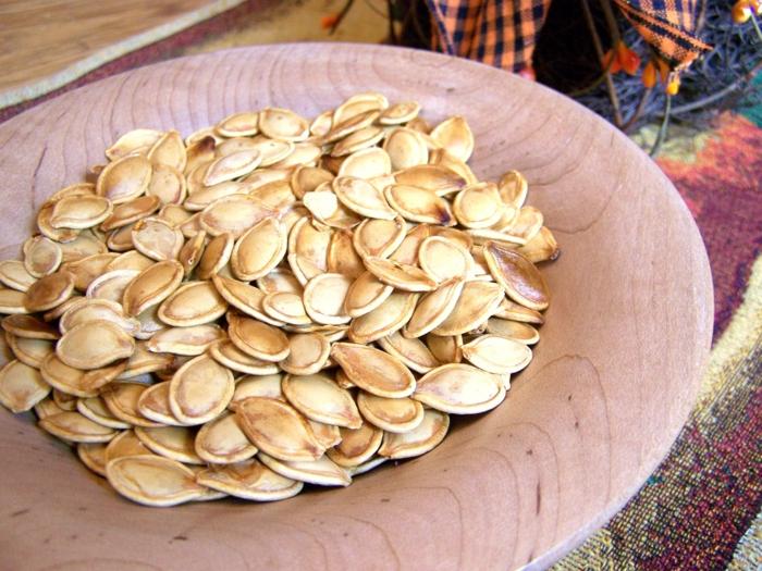kürbiskerne gesund gebackene kürbiskerne gesunde ernährung tipps