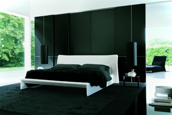 kleines schlafzimmer gestalten schlafzimmer gardinen indireckte beleuchtung dunkel