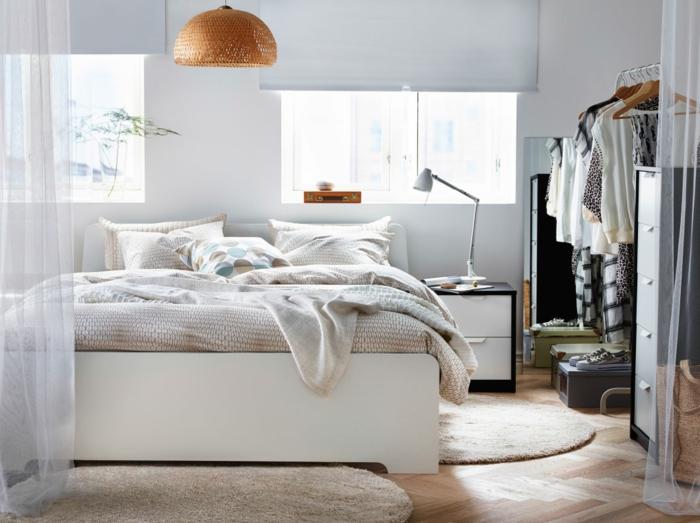 schlafzimmer gestalten anhand von 29 beschaulichen ikea beispielen. Black Bedroom Furniture Sets. Home Design Ideas