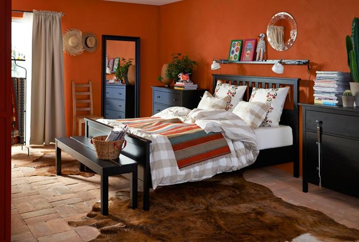 kleines schlafzimmer gestalten schlafzimmer gardinen indireckte