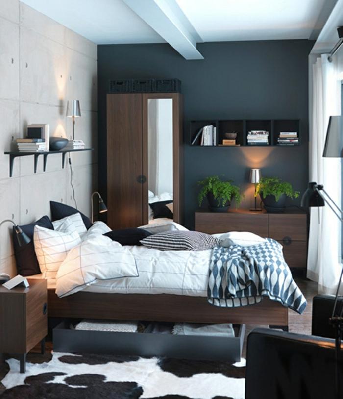 Schlafzimmer Gardinen Gestalten : kleines schlafzimmer gestalten schlafzimmer gardinen indireckte
