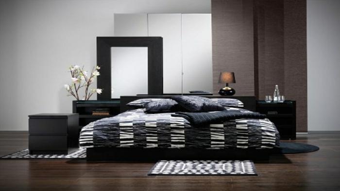 gardinen schlafzimmer gestalten innenr ume und m bel ideen. Black Bedroom Furniture Sets. Home Design Ideas