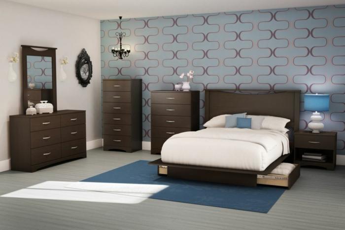 kleines schlafzimmer gestalten schlafzimmer gardinen indireckte beleuchtung hell sstilvoll ikea20 streng