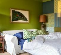 23 kreative Ideen für Wanddekoration im Gästezimmer