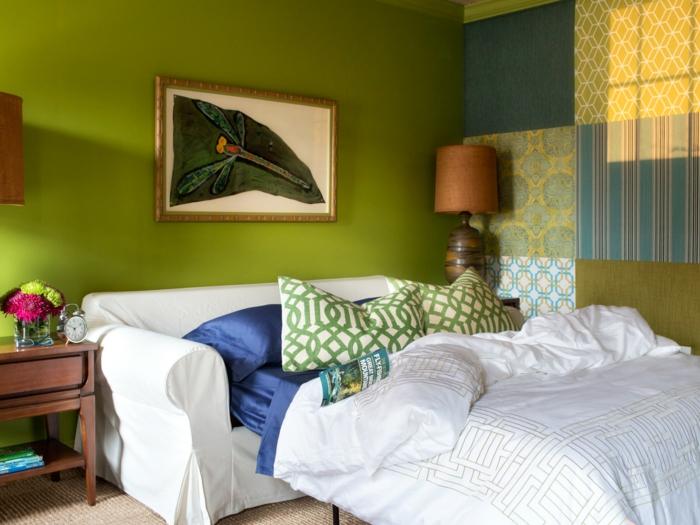 wandgestaltung ideen mit farbe. Black Bedroom Furniture Sets. Home Design Ideas