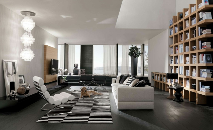 modern einrichten 60 ideen wie man die philosophie. Black Bedroom Furniture Sets. Home Design Ideas