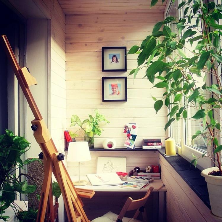 moderne Terrassengestaltung Bilder Homeoffice Atelier