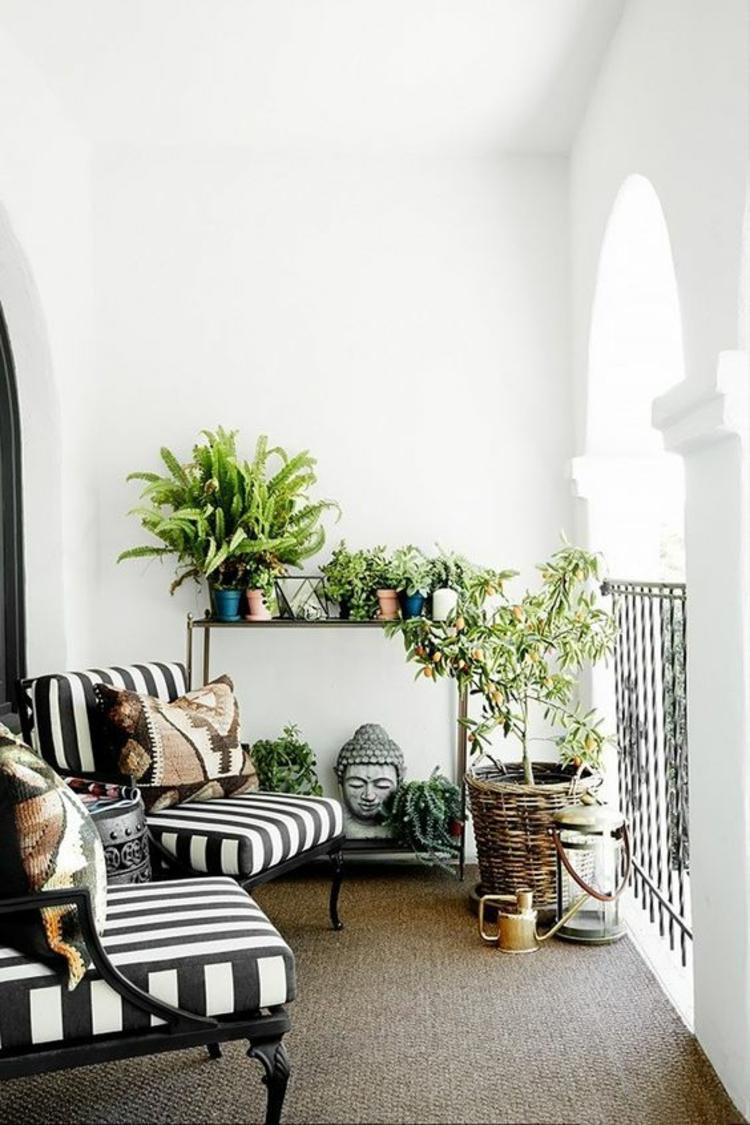 Gartenmobel Rattan Lounge Stapelbar Turm : Pin Balkon Pflanzen Coole Ideen Für Eine Grüne Entspannungsecke on