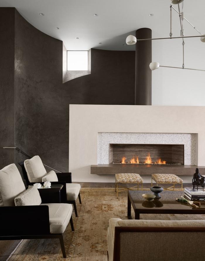 Offene Feuerstelle Wohnzimmer  Wohnzimmer Ideen