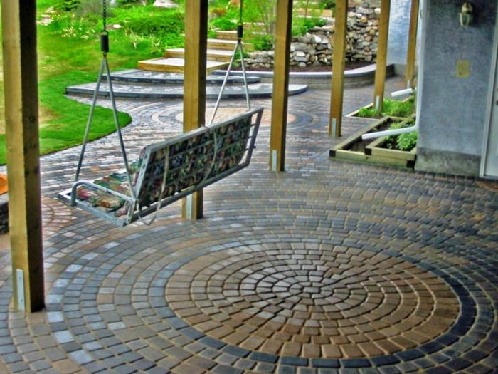 136 Moderne Gartengestaltung Beispiele, Wie Sie Böden Und