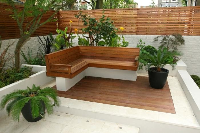 ideias jardins grandes:136 moderne Gartengestaltung Beispiele, wie Sie Böden und Gartenwege
