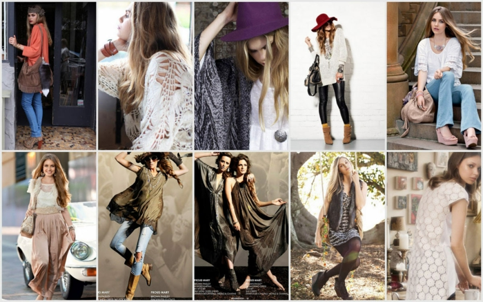 modetrends fashion damenmode boho chic stil