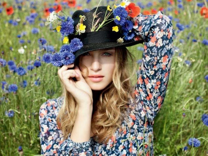 modetrends fashion damenmode sommerkleid blumenmuster