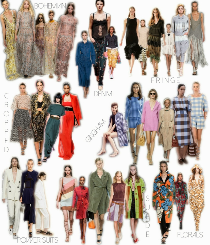 modetrends fashion stile haute coutur modetendenzen damenmode