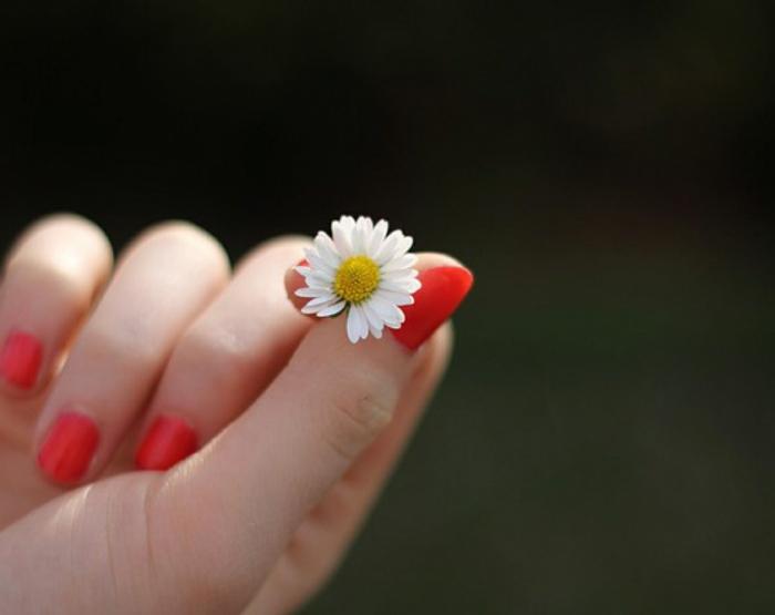 nageldesign fotos frische farbe sommerlich kurze nägel