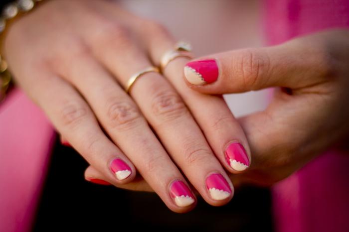 nagellack ideen ovale nägel farbig nageltrends