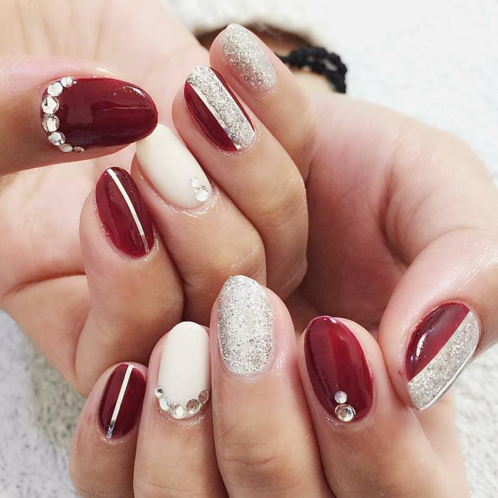 Nageldesigns In Rot - 73 Inspirierende Ideen Fu00fcr Ihr Modernes Nageldesign