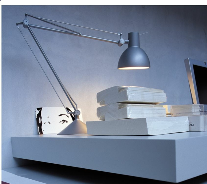 philippe Starck Lampen und Leuchten archimon silber