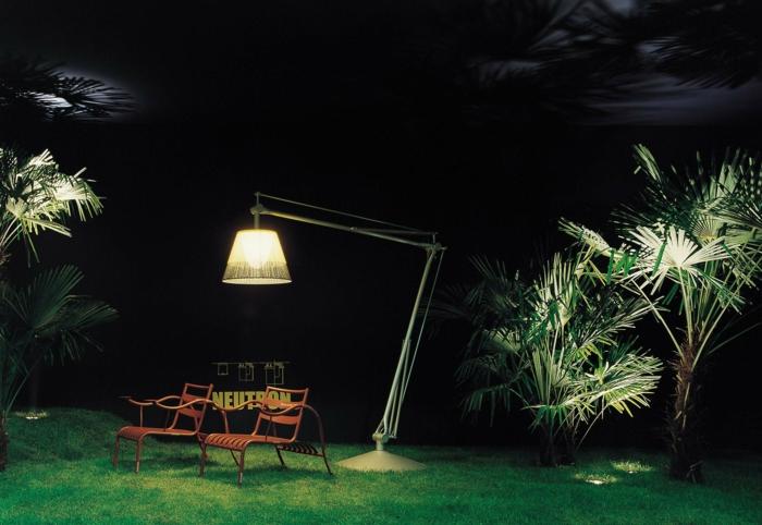 philippe Starck Lampen und Leuchten für gartenleuchte superarchimon flos grün