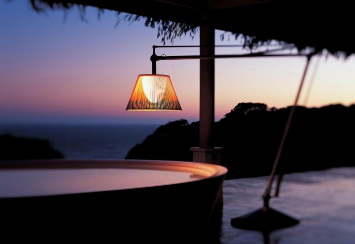 philippe Starck Lampen und Leuchten für gartenleuchte superarchimon flos