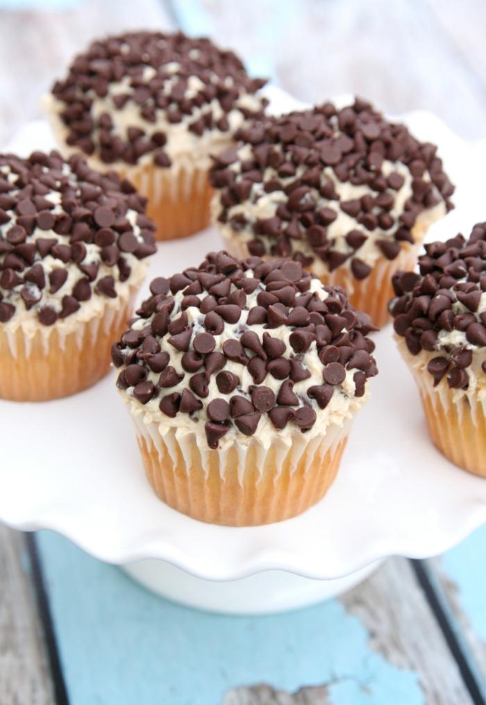 rezepte cupcakes schokoladenstückchen muffins rezepte