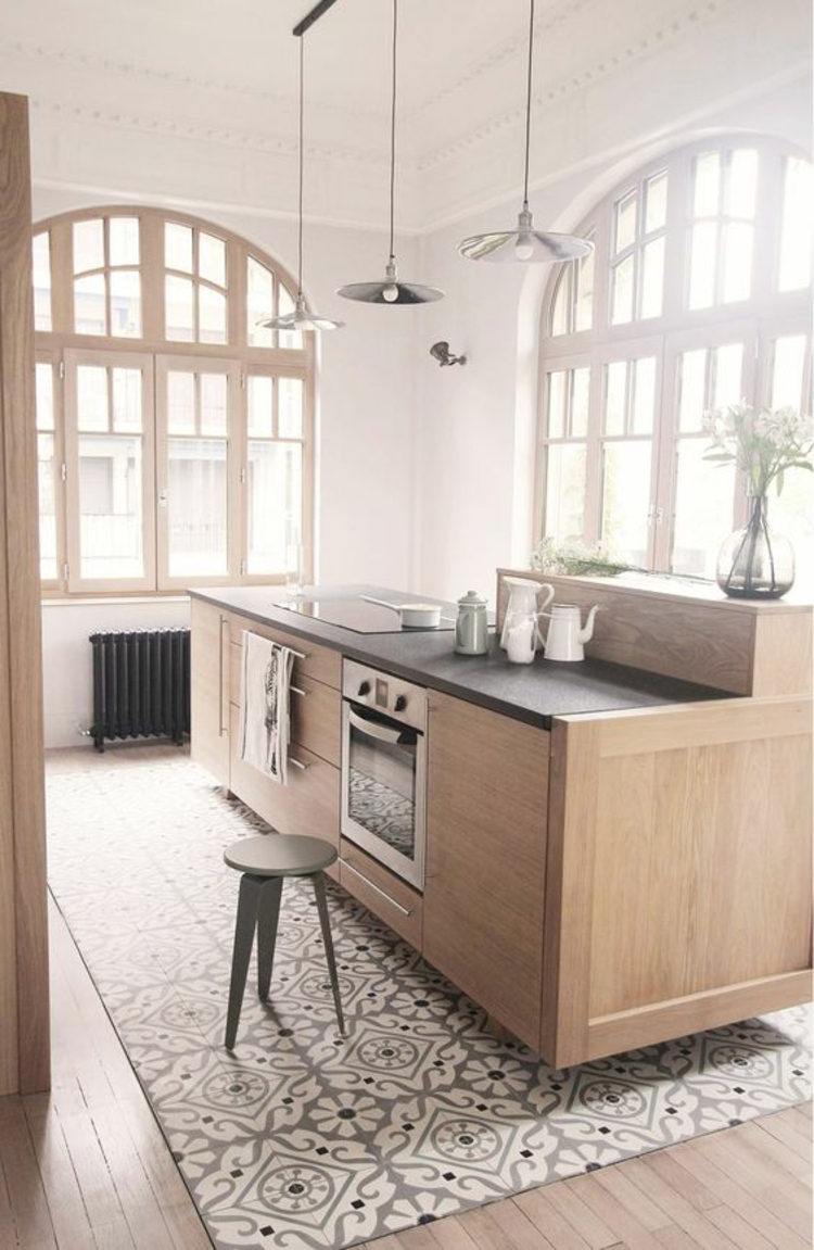 Küchen Holzboden