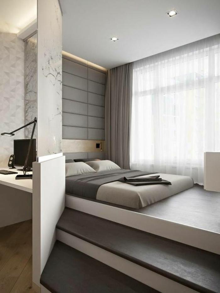 schlafzimmer einrichten beispiele minimalistisch funktional kleine räume einrichten